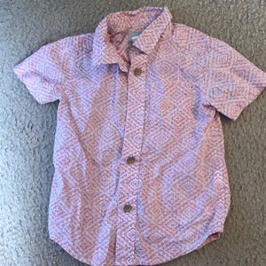 Toddler button up